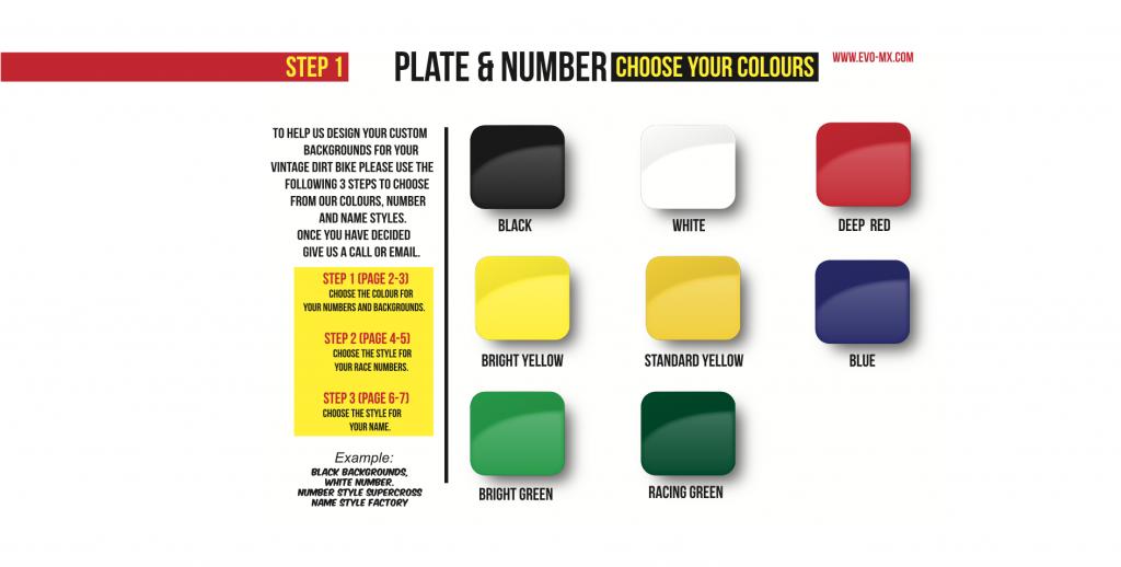 Online Brochure for Custom Plates