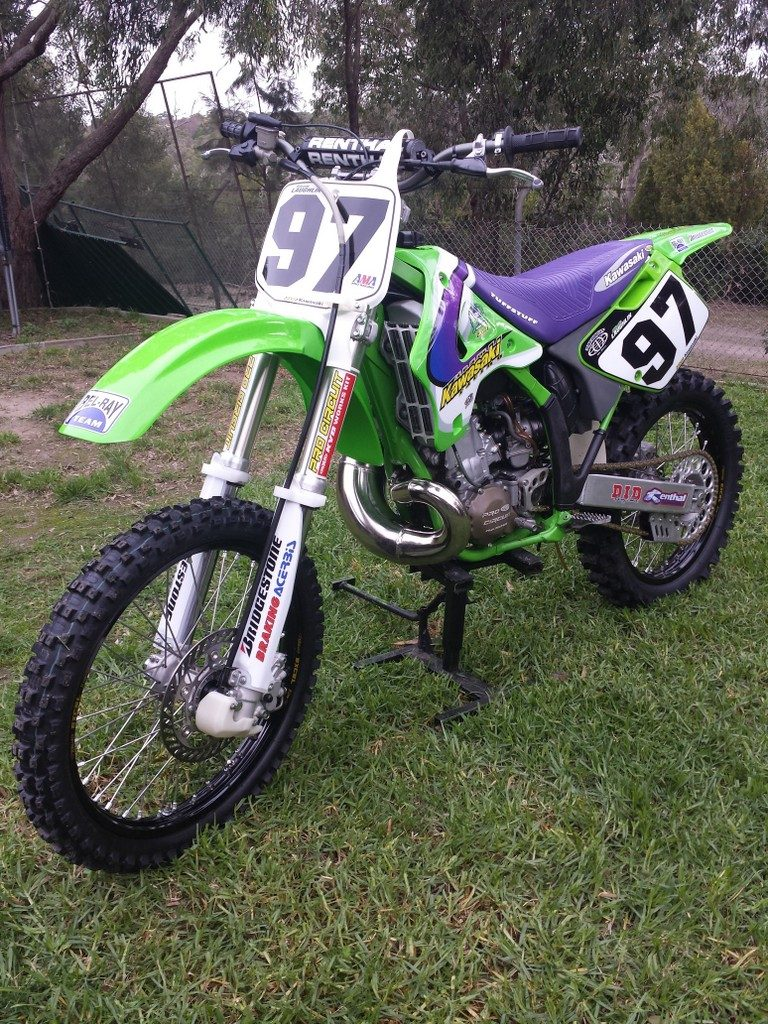 1997 KX 250 US Factory Replica