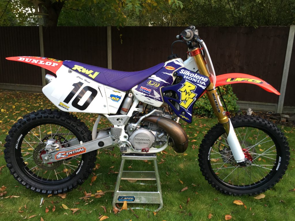 1995 CR 250 RWJ Factory Replica