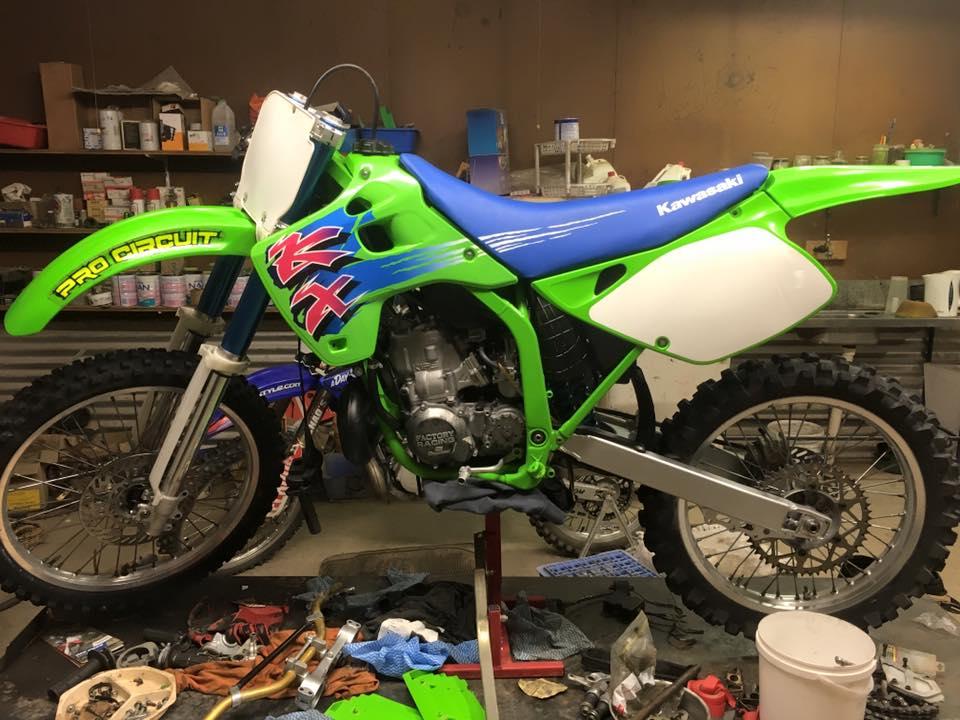 Steve Micheli's 1992 KX 125-250 Kit