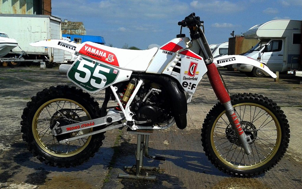Craig Savage's YZ 1986-87 Chesterfield Kit