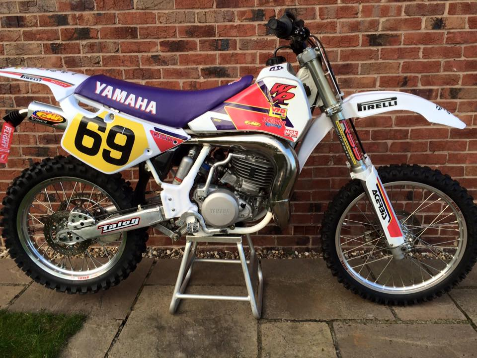 Chris Shaw's 92 YZ WR 500 Bradshaw Style Kit