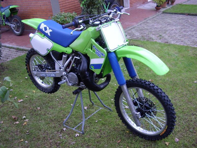 Roberto Toso's '87 KX 250